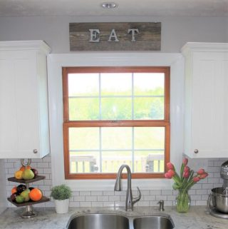 Reclaimed Wood & Galvanized Letter Sign