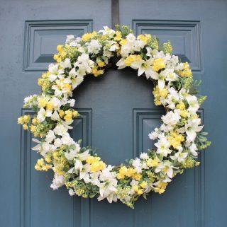 Easy DIY Spring & Summer Wreath
