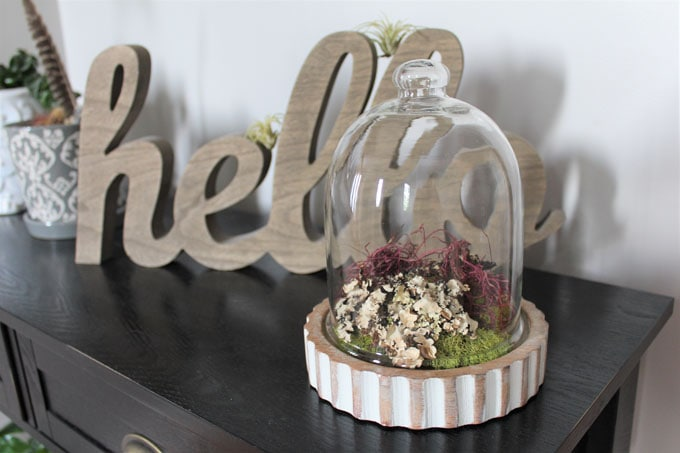 how to make a faux terrarium