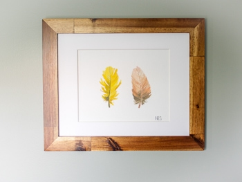 Feather printable download wall art free