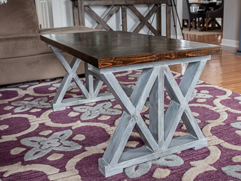 Double coffee table free woodworking plans