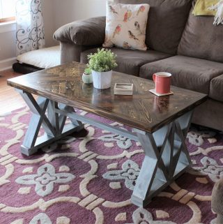 double x coffee table free build plans