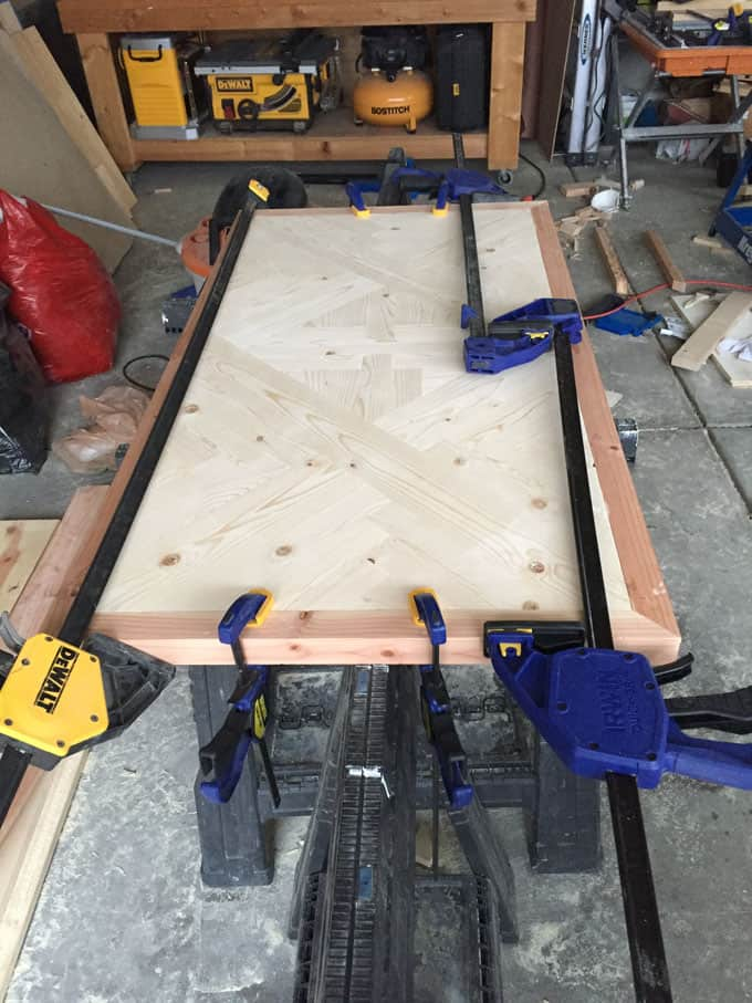 double x coffee table free plans woodworking