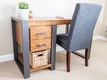 Diy Modern Industrial Desk Handmade Weekly