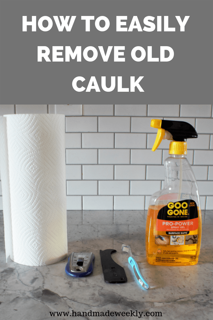 How to easily remove old caulk