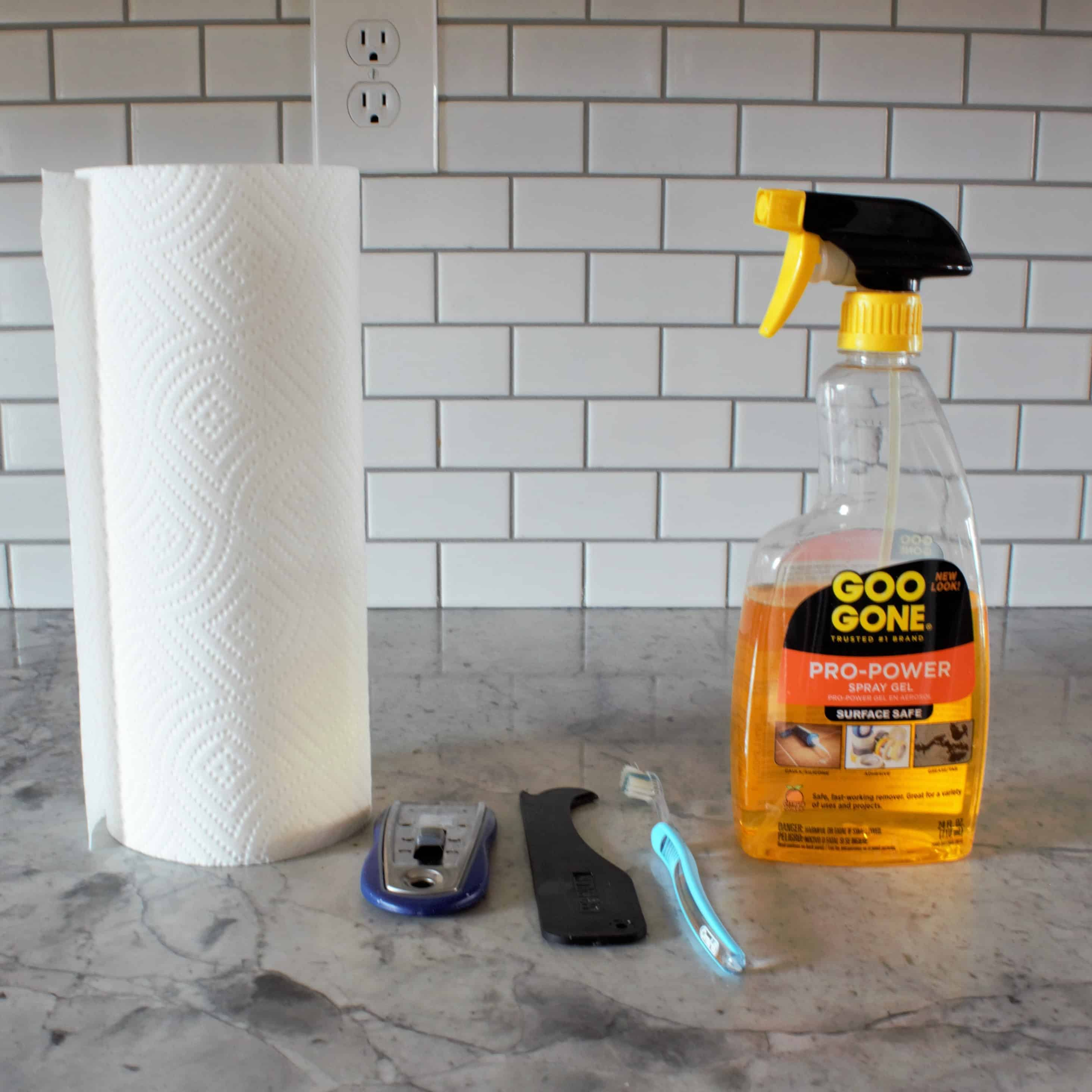How to remove old caulk