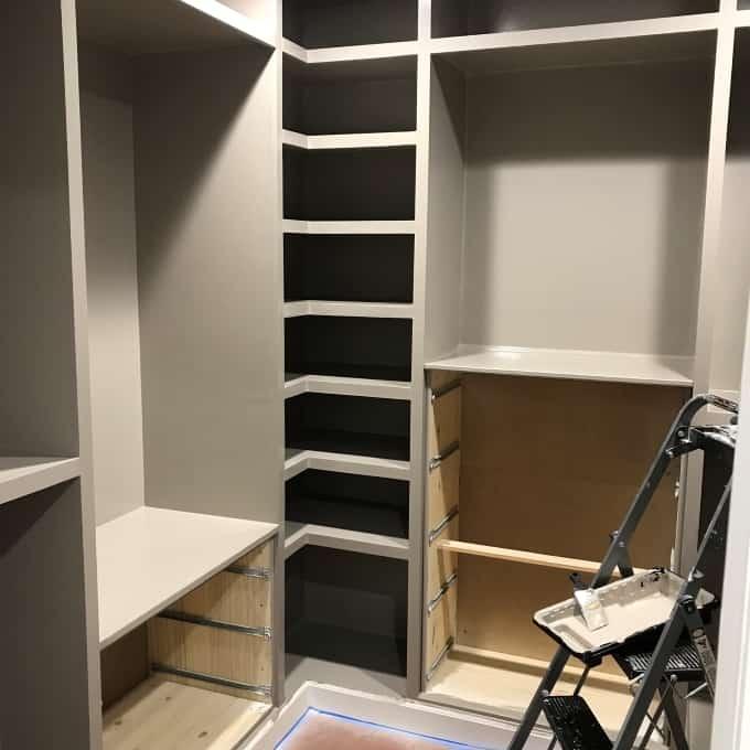 DIY Custom Closet with ikea dresser
