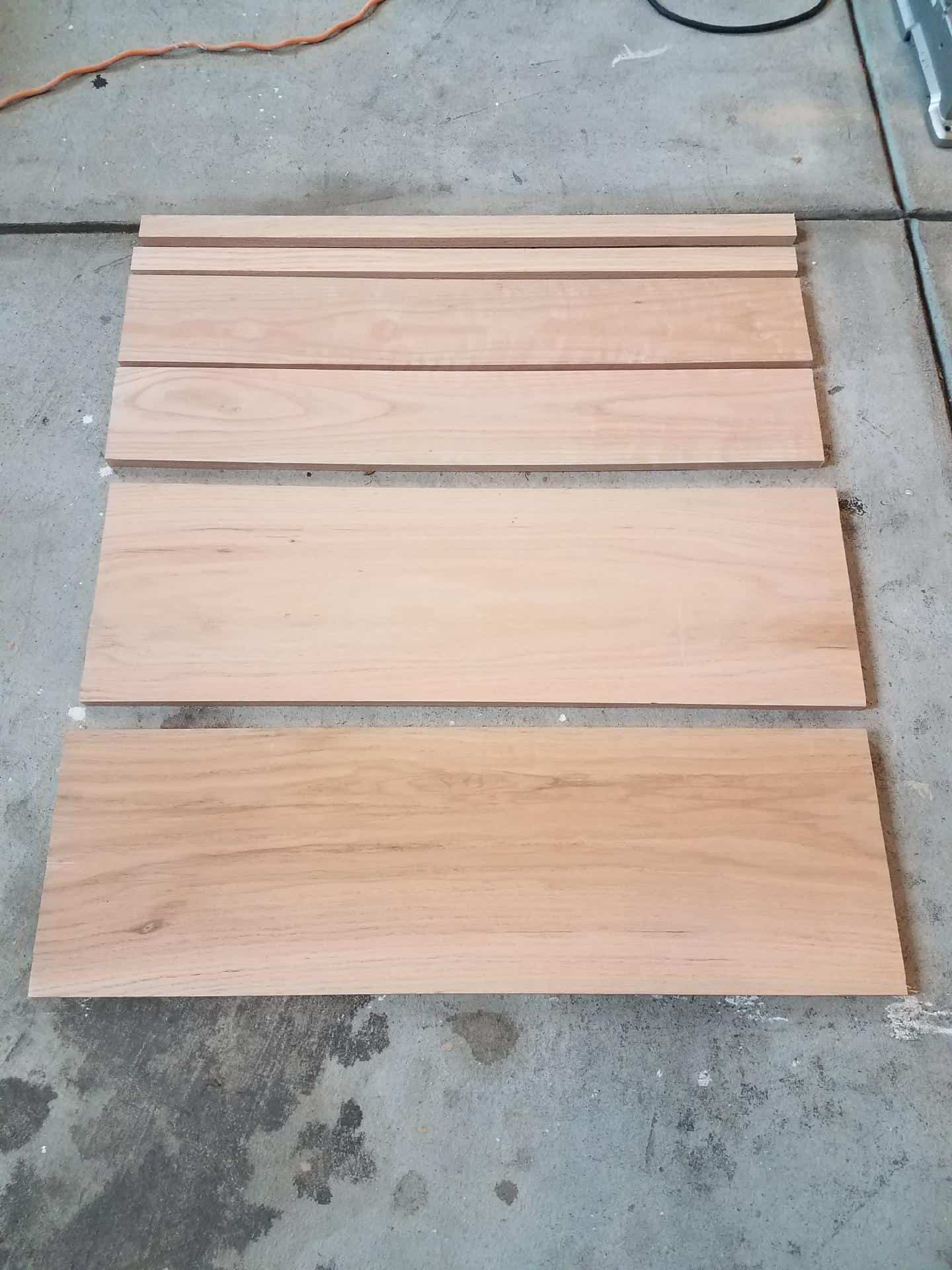 DIY Oak Wall Shelves Free Plans