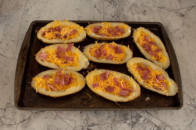 Easy Baked Potato Skins