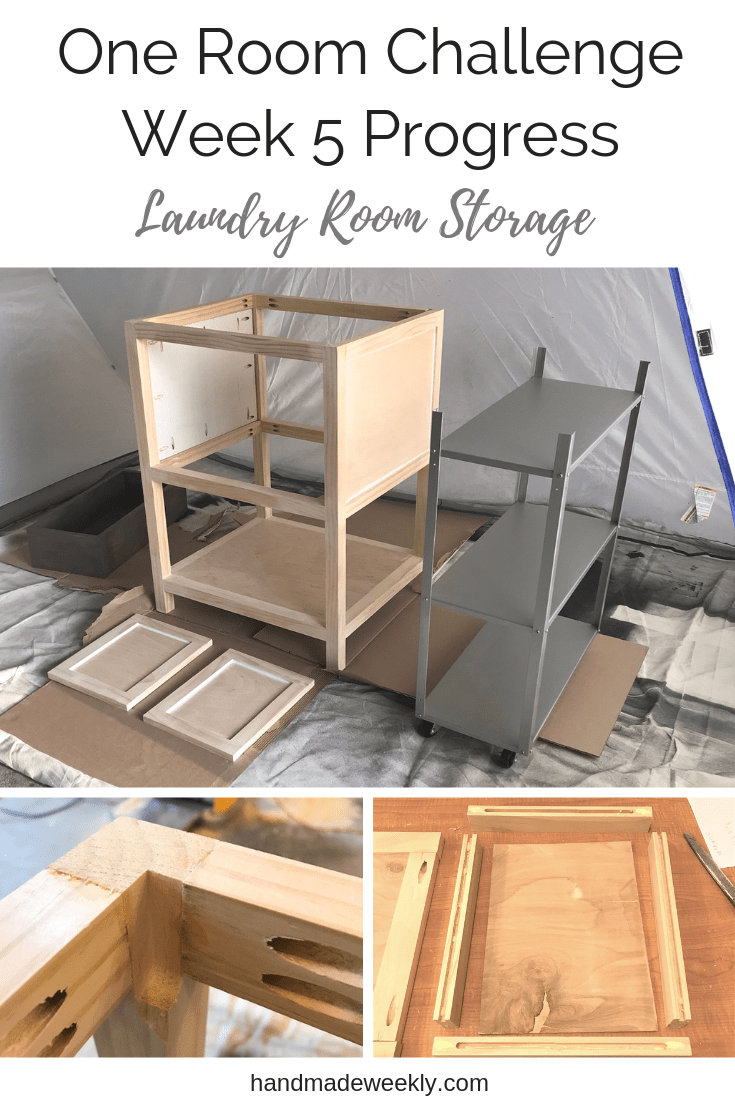 One Room Challenge Week 5 - Woodworking Projects