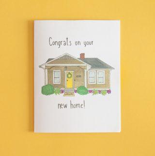 Free Housewarming Card printable download