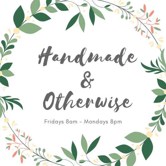 Handmade and otherwise blogger link up party blog hop