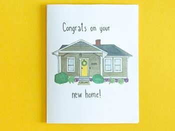 Housewarming card free printable download