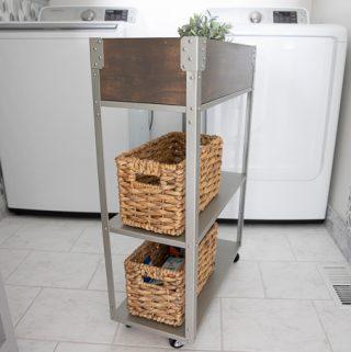 Ikea Hyllis Hack - Rolling cart