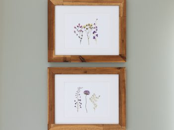 Free wildflower art print