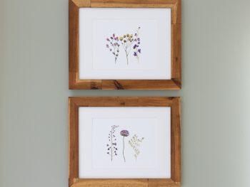 Free wildflower art print