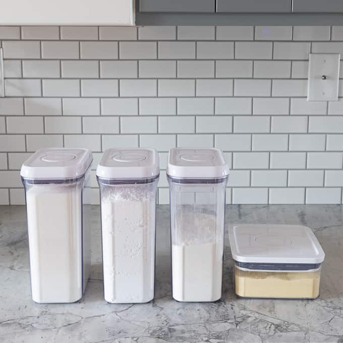 Pantry Organization Containers