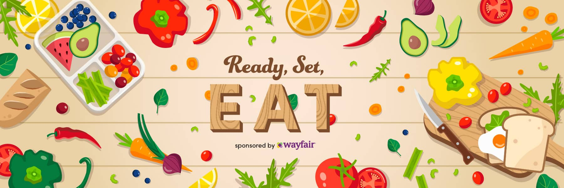 ready set eat wayfair campaign