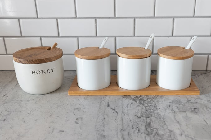 DIY Oatmeal station