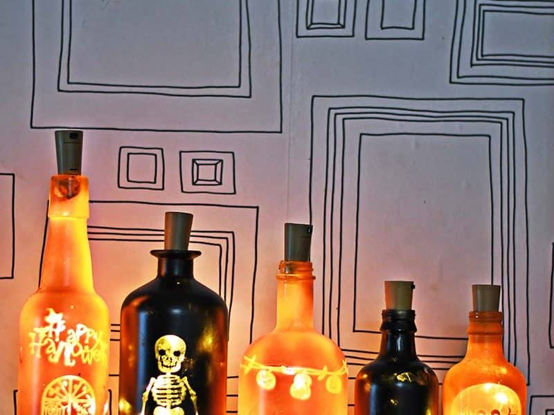 DIY Halloween lights