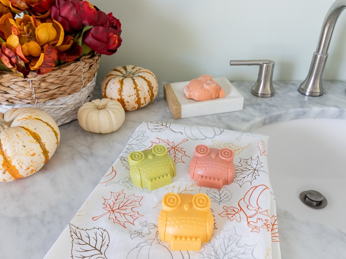 DIY Owl Soap Bars