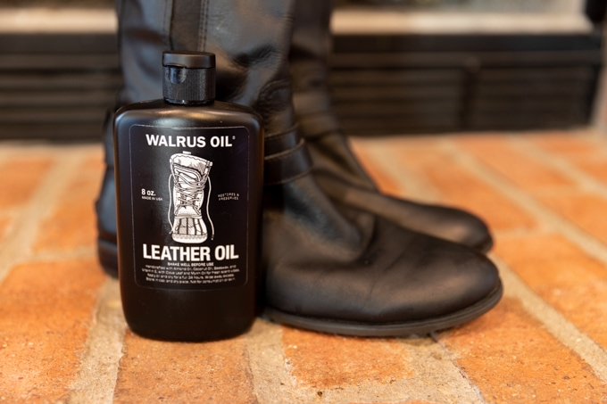 Walrus oil leather oil review