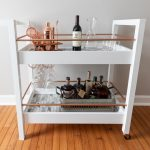 DIY Bar Cart Free Build Plans - Woodworking