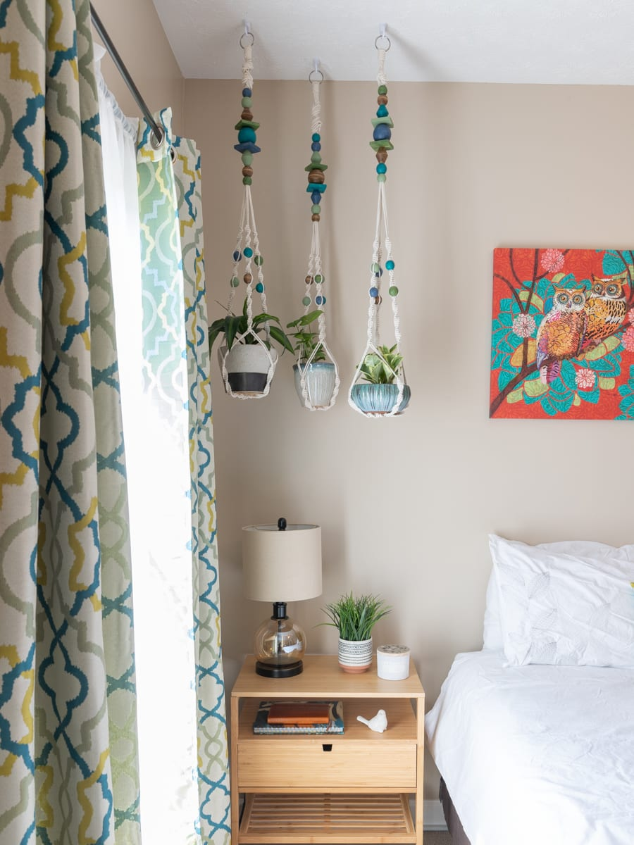 IKEA Anvandbar hanging plant holder hack