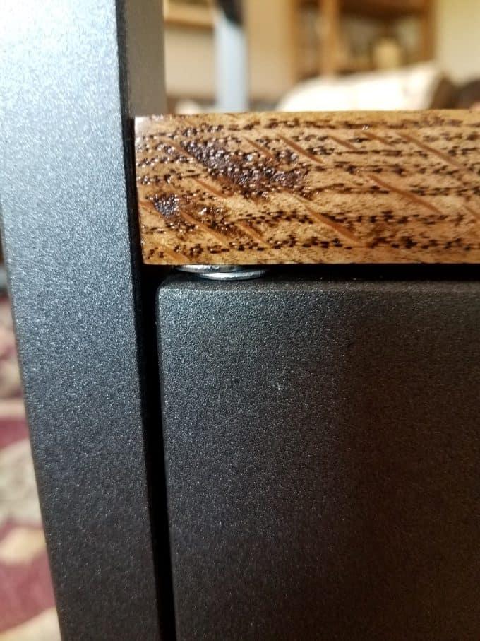 Ikea nordkisa nightstand hack