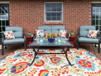 Colorful Patio Decor