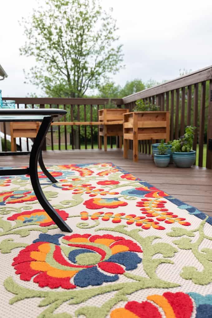 Colorful Patio Decor