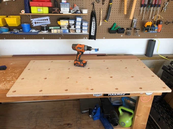 DIY Giant Pegboard