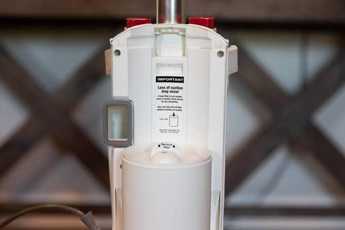 Increase vacuum suction