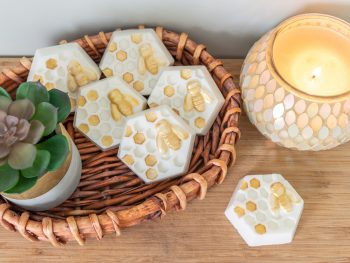 DIY Painted soap bars