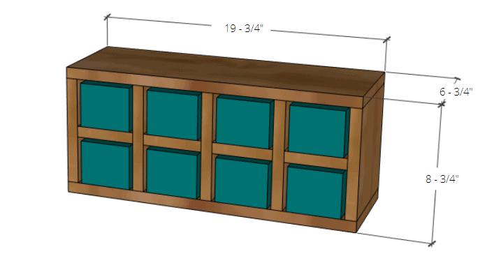 DIY Small Parts organizer build plans