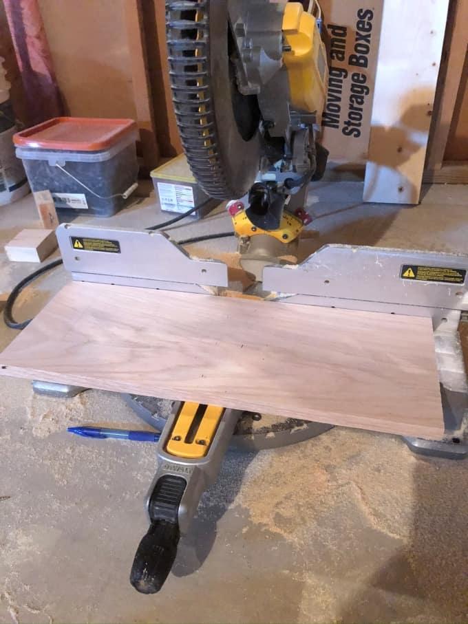 DIY Wood Laptop Stand