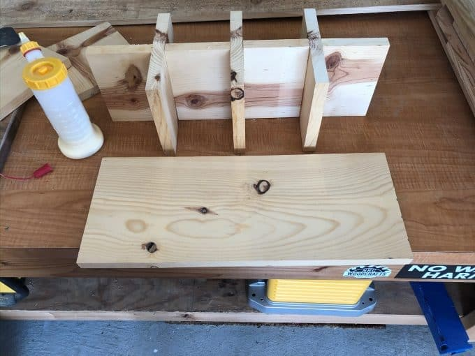 DIY small parts organizer with ikea rejsa boxes 9