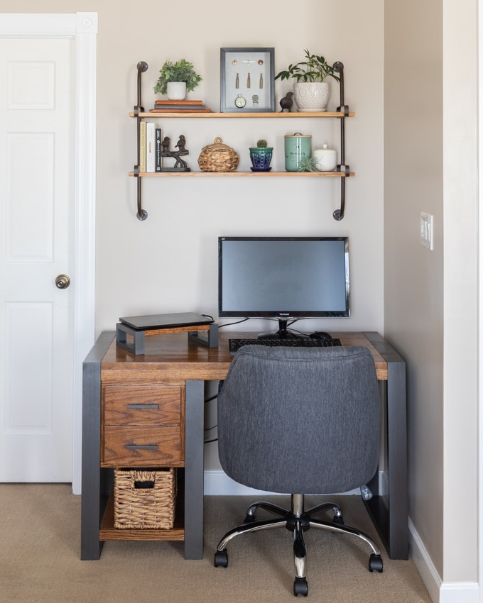 Modern Industrial home office