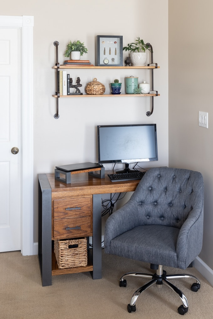 Modern Industrial home office chair