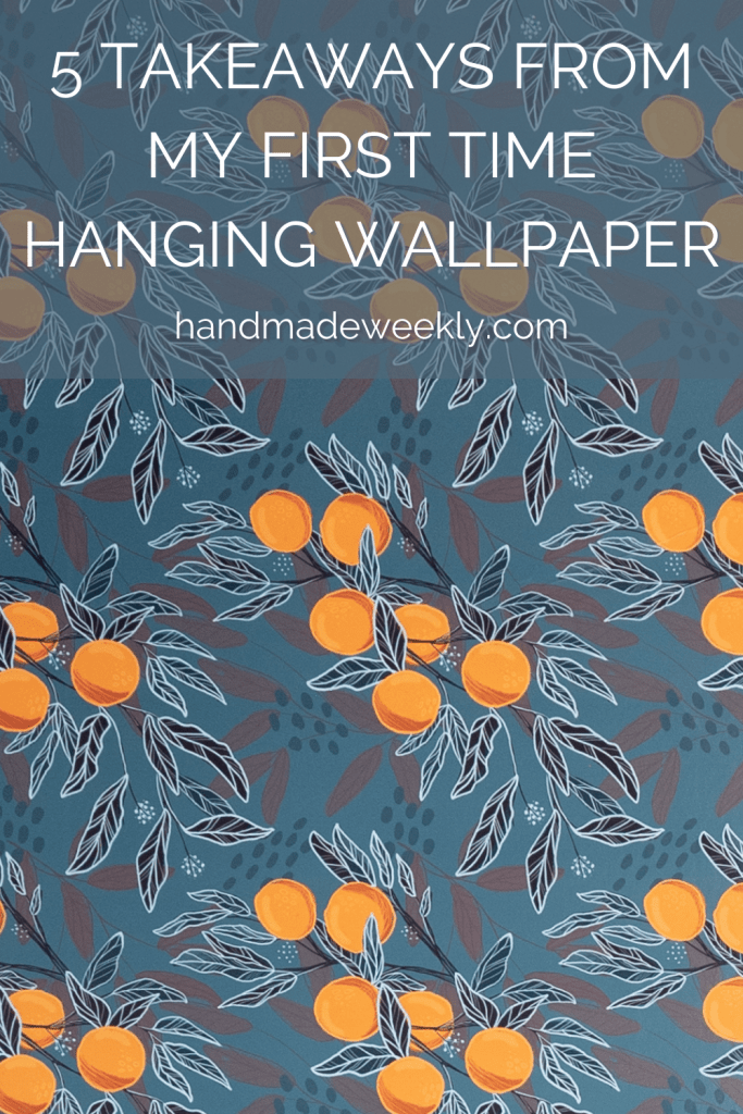 Tips for hanging wallpaper